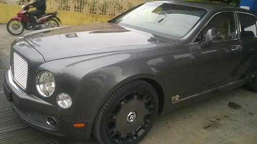 Bentley Mulsanne độ mâm khủng tại Hà thành - Ảnh 1.