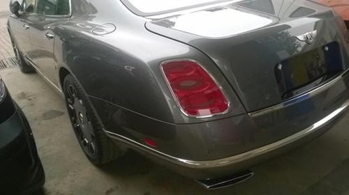 Bentley Mulsanne độ mâm khủng tại Hà thành - Ảnh 6.