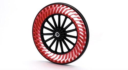 Bridgestone phát triển lốp không hơi cho xe đạp - Ảnh 1.