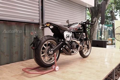 Cận cảnh Ducati Scrambler phiên bản Café Racer tại Việt Nam - Ảnh 5.