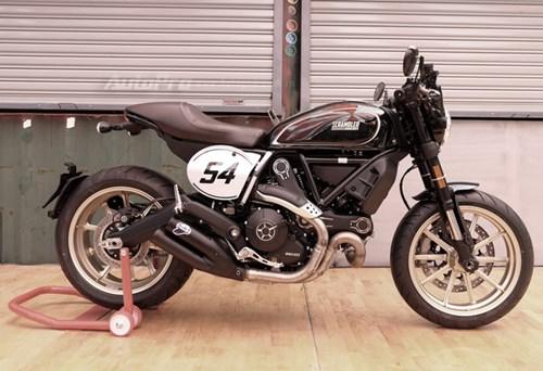 Cận cảnh Ducati Scrambler phiên bản Café Racer tại Việt Nam - Ảnh 12.