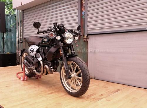 Cận cảnh Ducati Scrambler phiên bản Café Racer tại Việt Nam - Ảnh 2.