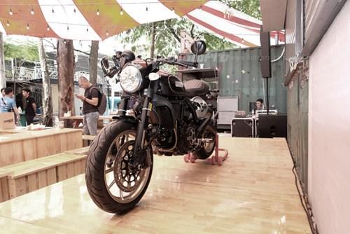 Cận cảnh Ducati Scrambler phiên bản Café Racer tại Việt Nam - Ảnh 1.