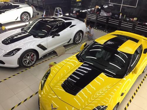 Tay chơi Bình Thuận trang điểm cho Chevrolet Corvette C7 Stingray - Ảnh 2.