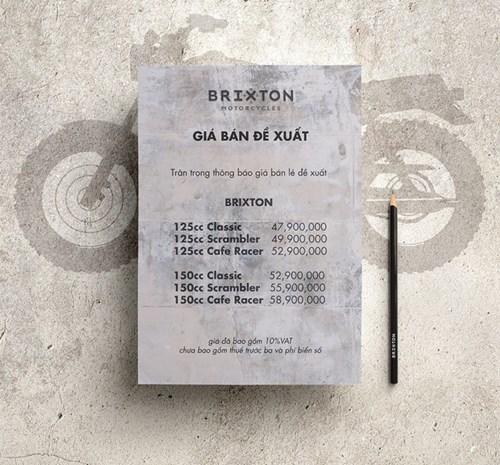 Mô tô đậm chất cổ điển Brixton BX sắp ra mắt Việt Nam được chốt giá, chỉ từ 48 triệu Đồng - Ảnh 1.