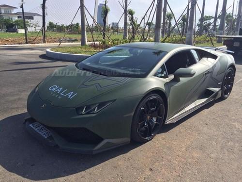 Cặp đôi Lamborghini Huracan độ khủng, biển VIP, đọ dáng cùng nhau tại Đà Nẵng - Ảnh 13.