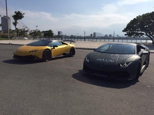 Cặp đôi Lamborghini Huracan độ khủng, biển VIP, đọ dáng cùng nhau tại Đà Nẵng - Ảnh 12.