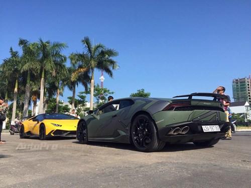 Cặp đôi Lamborghini Huracan độ khủng, biển VIP, đọ dáng cùng nhau tại Đà Nẵng - Ảnh 6.