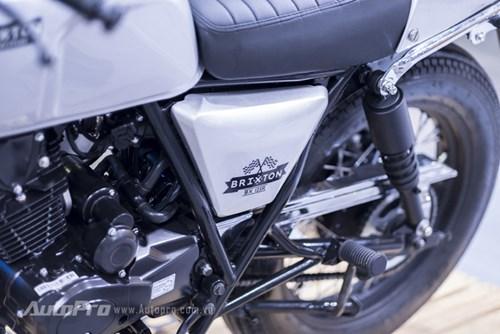 Xem trước Brixton BX125/150, mẫu xe máy làm điên đảo mạng xã hội những ngày qua - Ảnh 12.