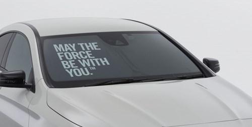 Mercedes-Benz ra mắt CLA đặc biệt cho fan cuồng Star Wars - Ảnh 1.