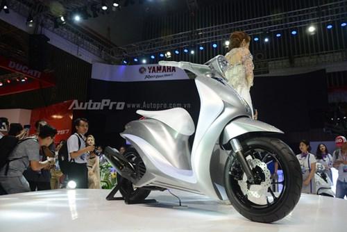 TRỰC TIẾP: Yamaha đem dàn xe khủng đến triển lãm VMCS 2017, điểm nhấn là mẫu concept Glorious - Ảnh 1.
