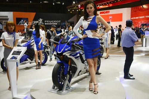 TRỰC TIẾP: Yamaha đem dàn xe khủng đến triển lãm VMCS 2017, điểm nhấn là mẫu concept Glorious - Ảnh 6.