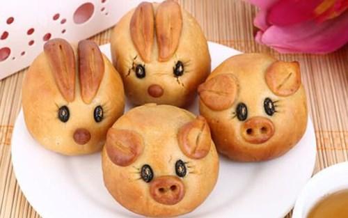 """Bánh trung thu tạo hình con vật """"gây sốt"""" thị trường - Ảnh 10."""