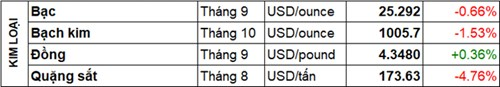 Tong hop dien bien thi truong