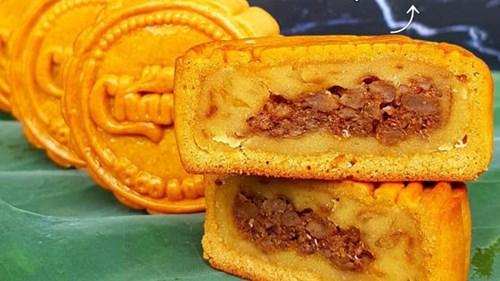 Nhân bánh trung thu năm nay xuất hiện vị cực lạ. Chẳng hạn như nhân bánh vị xôi xéo béo ngậy.