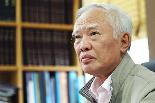Nguyên phó thủ tướng Vũ Khoan - Ảnh: Nguyễn Khánh