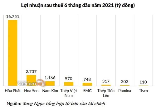 Nhiều doanh nghiệp thép tăng vốn lớn trong năm lãi đậm: Hòa Phát, Hoa Sen, Nam Kim, ... - Ảnh 1.