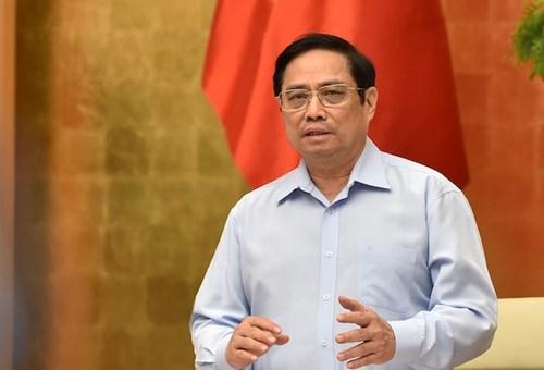 Thủ tướng Phạm Minh Chính chủ trì cuộc họp đầu tiên của Chính phủ nhiệm kỳ mới.