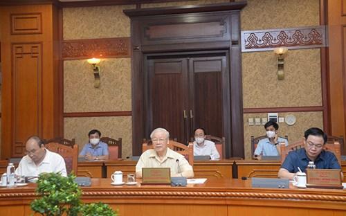 Thủ tướng làm Trưởng Ban chỉ đạo quốc gia phòng, chống dịch COVID-19 - Ảnh 1.