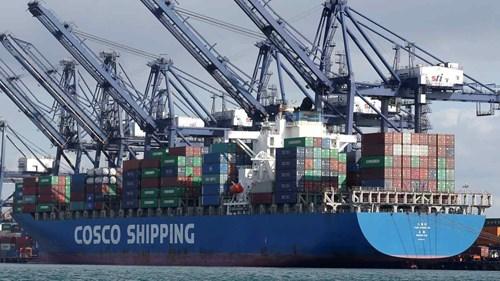 Ngành vận tải biển Trung Quốc đua nhau báo lãi lớn giữa lúc giá cước tăng phi mã - Ảnh 1.