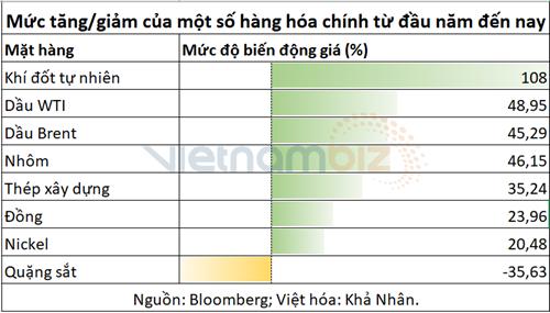 Thị trường hàng hóa trong 'siêu chu kỳ biến động' - Ảnh 2.