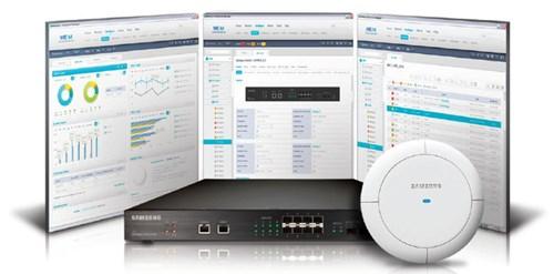 Giải pháp Samsung Smart WLAN cung cấp tiện ích cấu hình thân thiện, trực quan, chi tiết mọi thông tin.