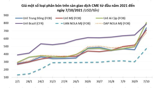 Giá phân bón trong nước tăng mạnh theo giá thế giới - Ảnh 2.