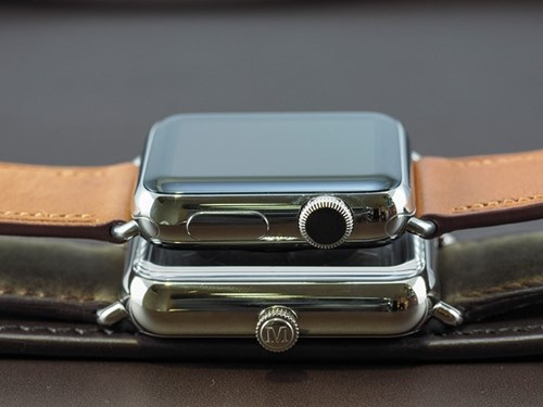 Dong ho giong Apple Watch gia hon 500 trieu ve VN hinh anh 4