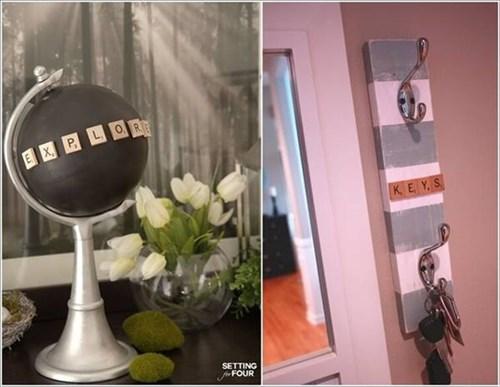10 cách làm đẹp nhà đón Valentine 2017 với chữ gỗ