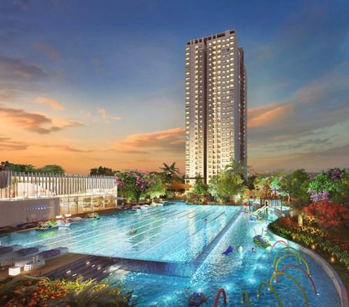 """Thị trường đang """"trông"""" tòa nhà đẹp nhất dự án – tòa nhà G được công bố vào ngày 25/3."""