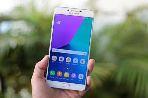 Samsung Galaxy C9 Pro co RAM 6 GB ve VN hinh anh 1