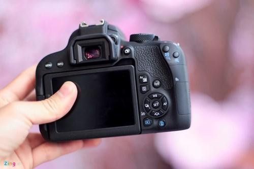 Anh thuc te Canon EOS 800D gia 18 trieu tai VN hinh anh 5