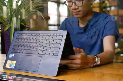 Laptop xoay mong nhat the gioi tu Asus gia 41,8 trieu hinh anh 12