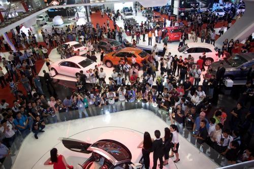 26-30/10: Triển lãm ô tô quốc tế Việt Nam lớn nhất từ trước đến nay