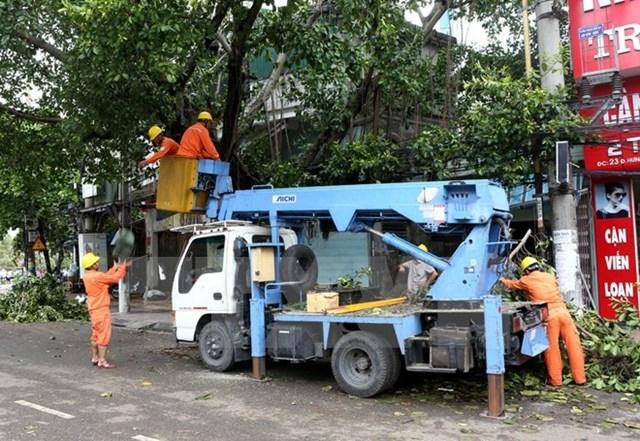 Hà Nội ban hành công điện khẩn chuẩn bị ứng phó với bão số 2