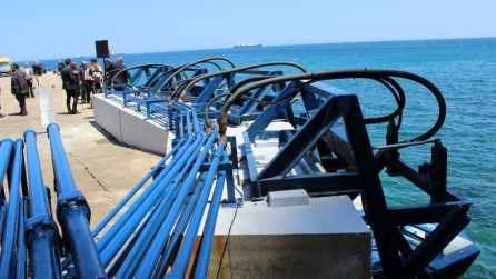 Nhà máy điện từ sóng biển đầu tiên ở châu Âu đi vào hoạt động