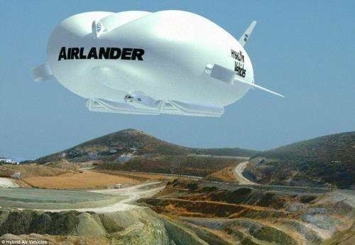 Ra mắt thành công máy bay khinh khí cầu lớn nhất thế giới