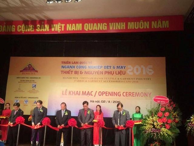 Triển lãm QT Ngành CN Dệt May–Thiết bị và NPL Việt Nam 2016 (HANOITEX 2016)