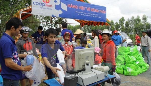 Hàng Việt tiến tới chiếm 80% thị phần kênh phân phối ở nông thôn