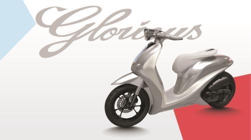 Yamaha giới thiệu mẫu xe tương lai Glorious