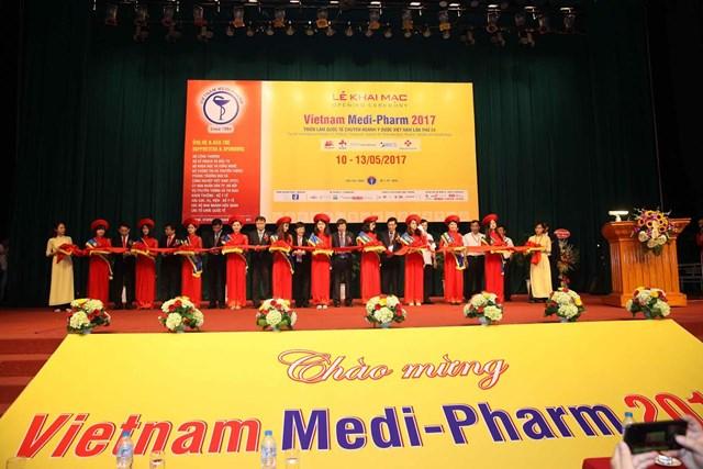 Khai mạc Triển lãm Quốc tế chuyên ngành Y dược Việt Nam lần thứ 24