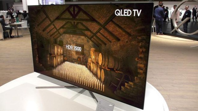 Samsung tiếp tục thống trị ngành TV cao cấp toàn cầu năm 2017