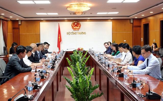 Thứ trưởng Đỗ Thắng Hải tiếp Đoàn Lãnh đạo cấp cao Hội đồng Kinh doanh Hoa Kỳ - ASEAN