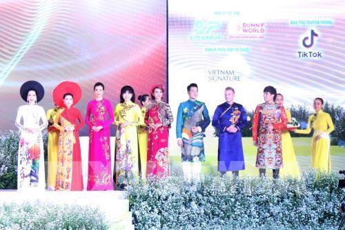 Lễ hội Áo dài Tp. Hồ Chí Minh 2019: Hơn 3.000 người tham gia đồng diễn áo dài VN