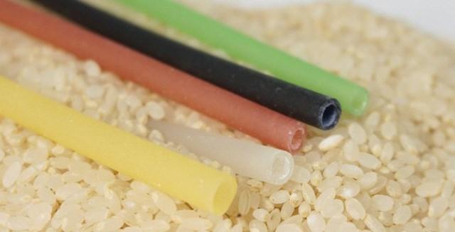Ống hút làm từ gạo xuất hiện tại triển lãm ở Singapore