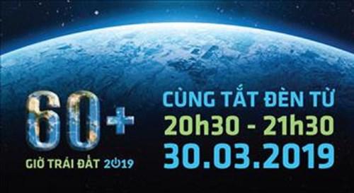 Giờ Trái đất năm 2019 diễn ra vào ngày nào?