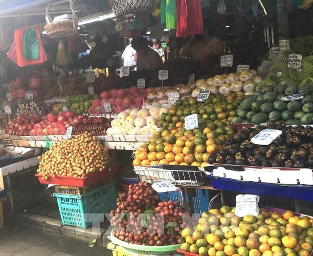 Thái Lan đưa cửa hàng trái cây lưu động đến từng ngõ xóm