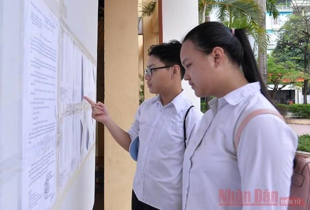 Hà Nội chính thức công bố điểm thi lớp 10