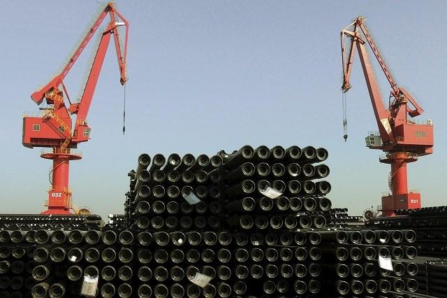 Trung Quốc lần đầu nhập siêu thép sau hơn 10 năm