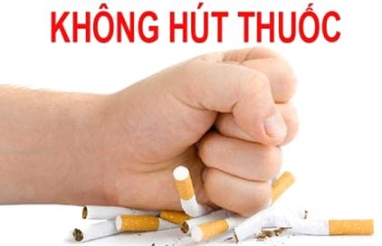 Xây dựng môi trường công sở không khói thuốc